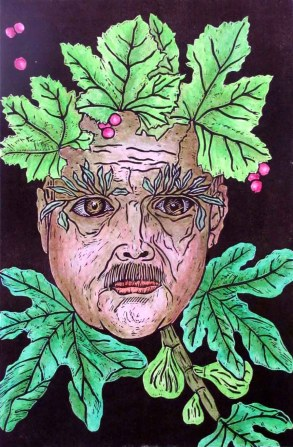 An Italian Green Man